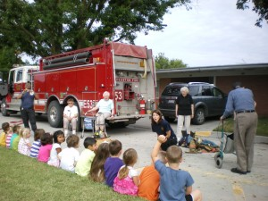 Visit from the Firetruck!
